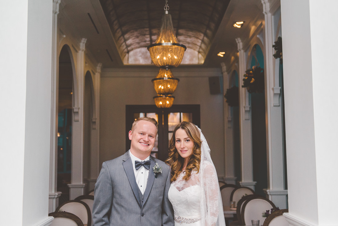 Bride & Groom Portrait | Colette Grand Cafe Wedding | EIGHTYFIFTH STREET PHOTOGRAPHY