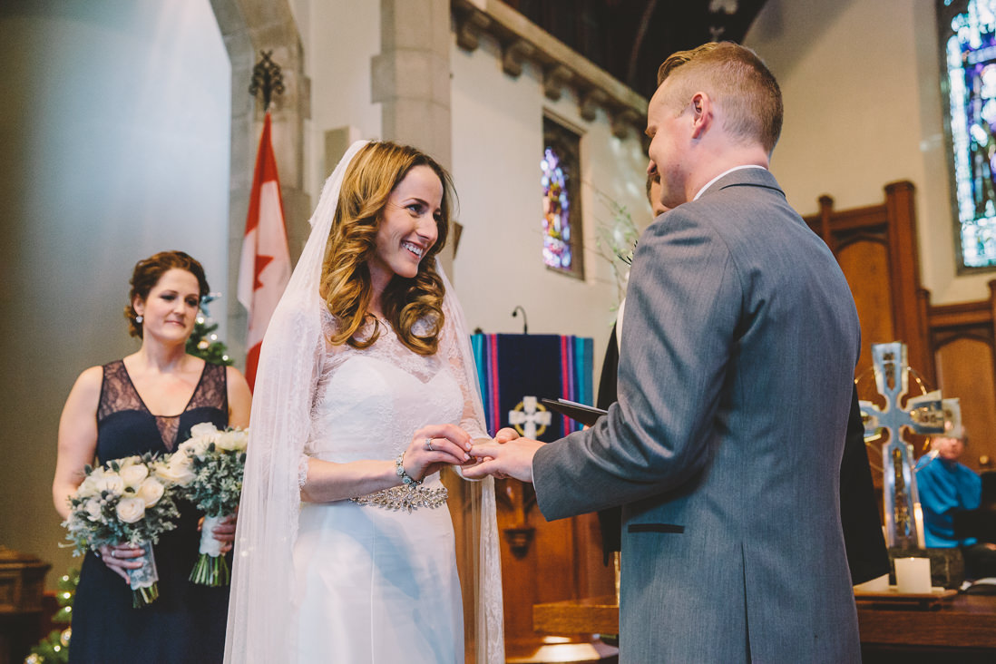 Rosedale Presbyterian Church Wedding Ceremony, Toronto | EIGHTYFIFTH STREET PHOTOGRAPHY