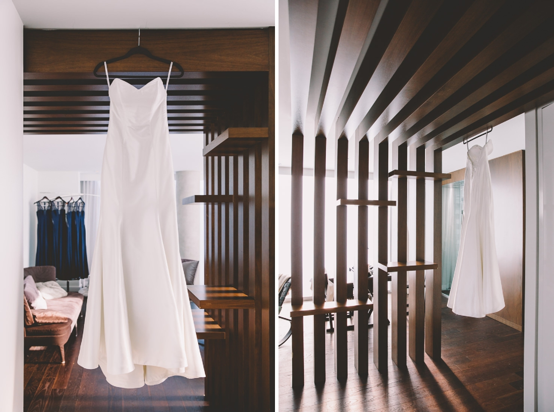 Wedding Dress | Thompson Hotel Wedding, Toronto | EIGHTYFIFTH STREET PHOTOGRAPHY