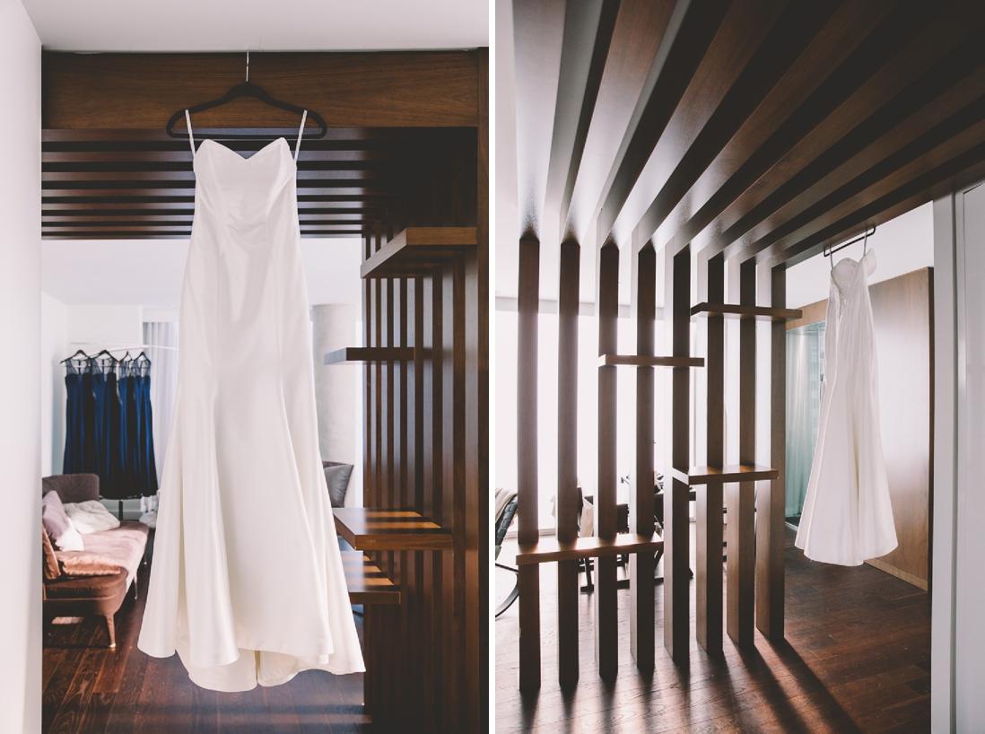 Wedding Dress | Thompson Hotel Wedding, Toronto | EIGHTYFIFTH STREET PHOTOGRAPHY