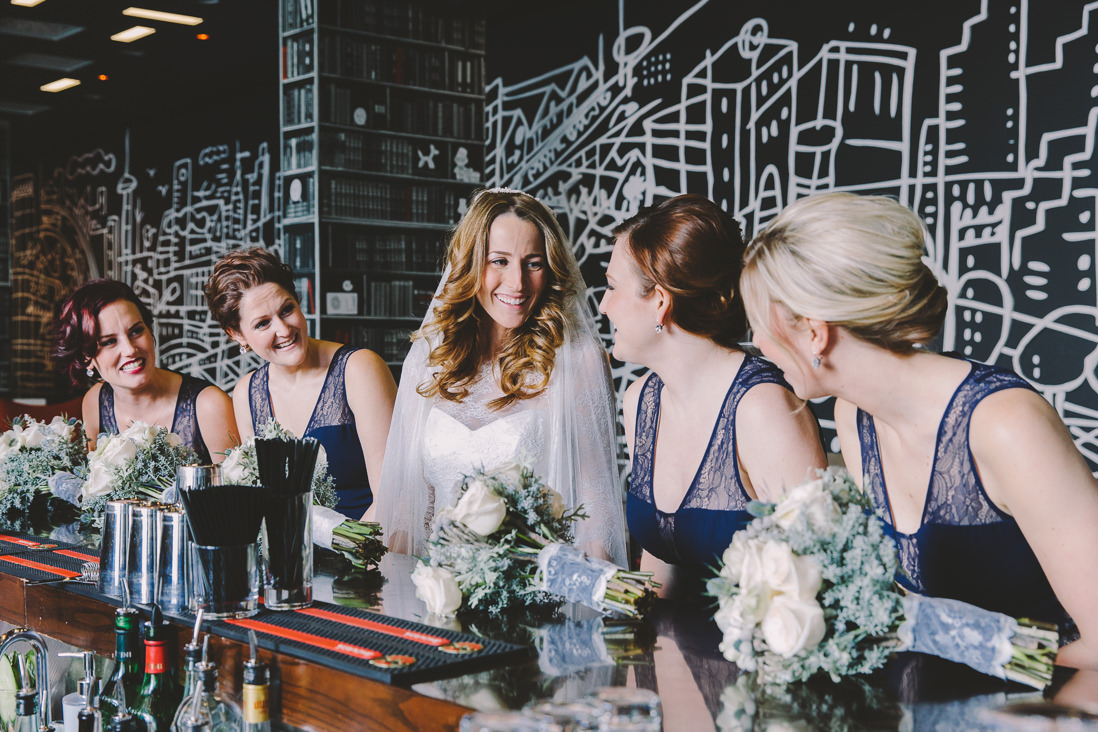 Bridal Party Portraits | Thompson Hotel Wedding, Toronto | EIGHTYFIFTH STREET PHOTOGRAPHY