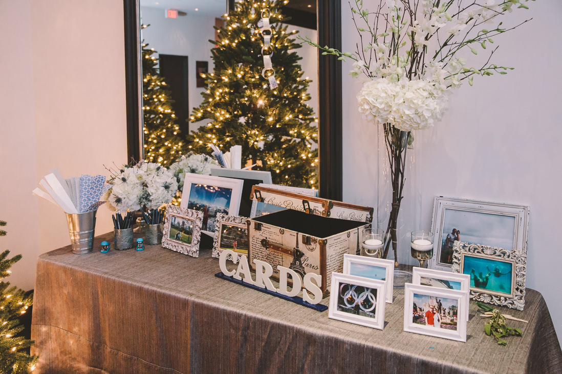 Guestbook Table | Winter Thompson Hotel Wedding, Toronto | EIGHTYFIFTH STREET PHOTOGRAPHY