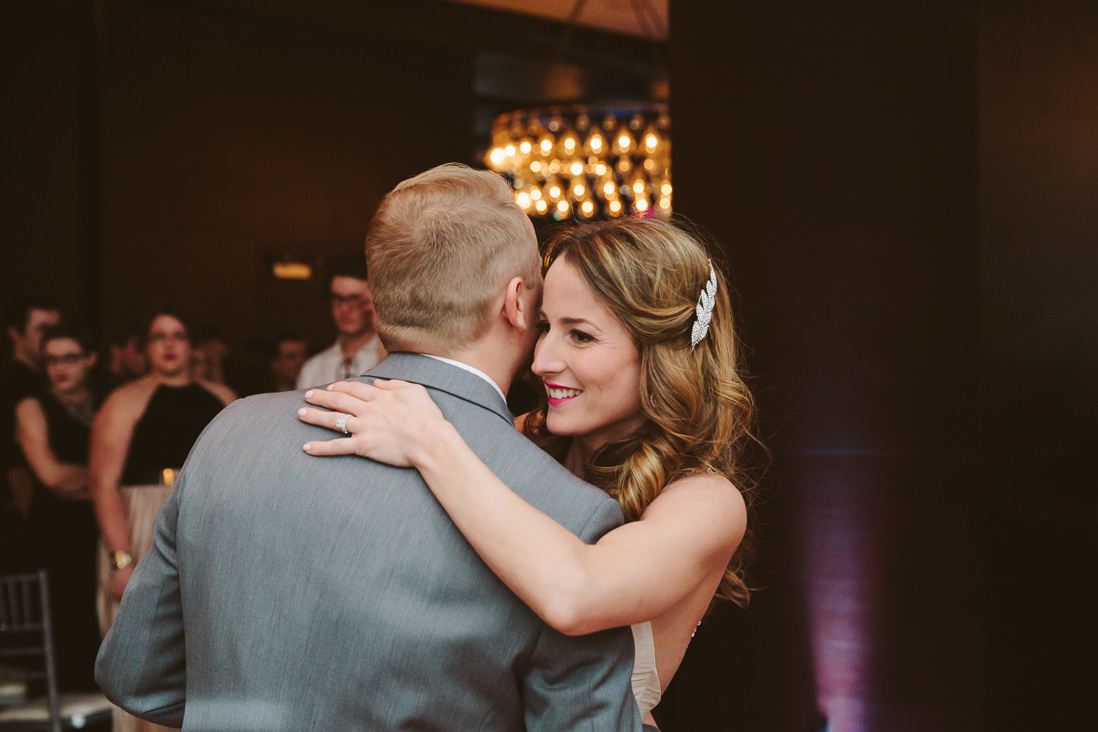 First Dance | Wellington Room | Thompson Hotel Wedding Reception, Toronto | EIGHTYFIFTH STREET PHOTOGRAPHY