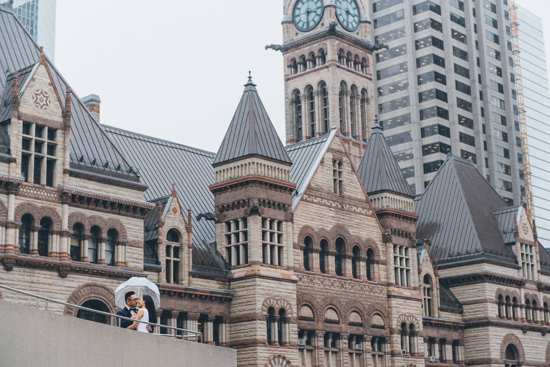 Bride & Groom portraits   Toronto City Hall Wedding   EIGHTYFIFTH STREET PHOTOGRAPHY