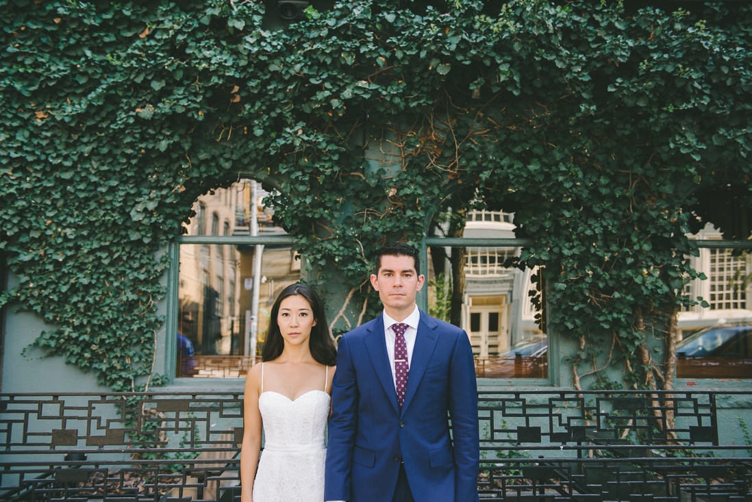 King St Bride & Groom portraits   Spoke Club Wedding Toronto   EightyFifth Street Photography