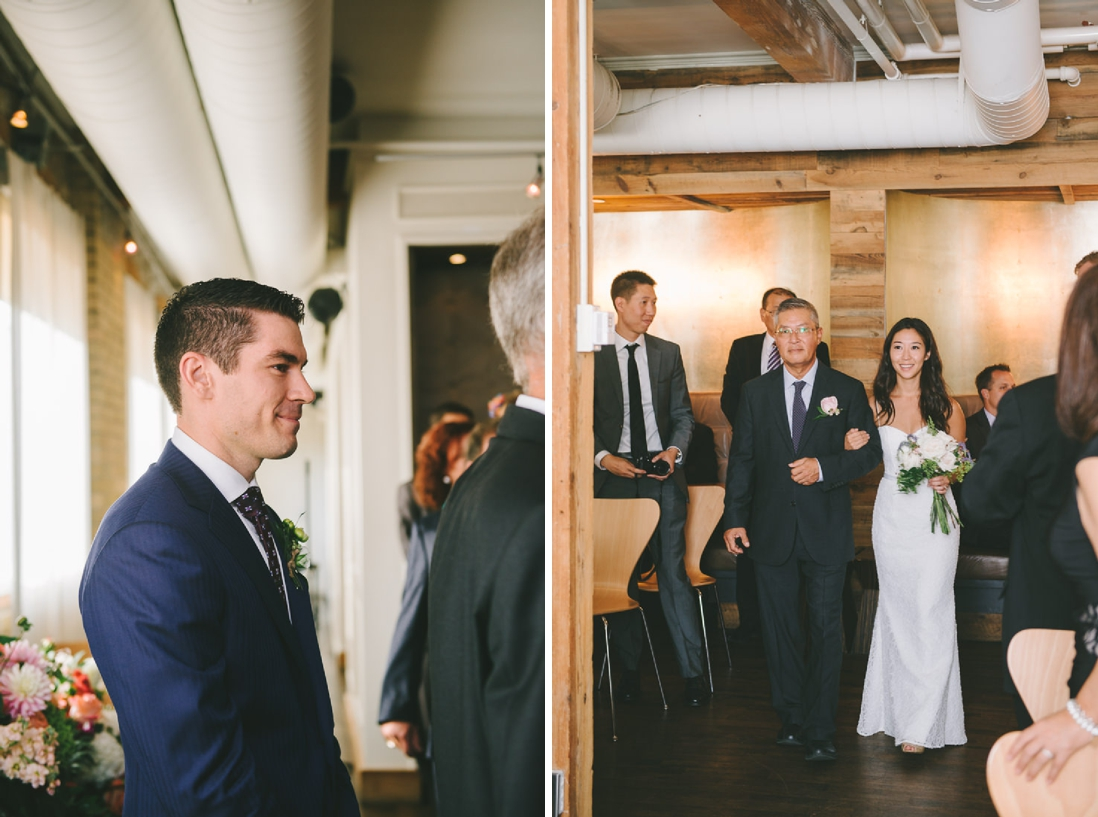 Spoke Club Wedding Ceremony Toronto | EightyFifth Street Photography