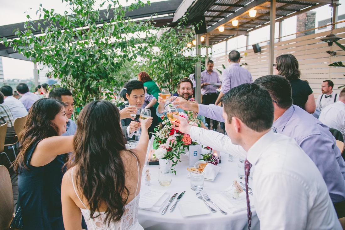 Spoke Club Wedding Reception Toronto   EightyFifth Street Photograph