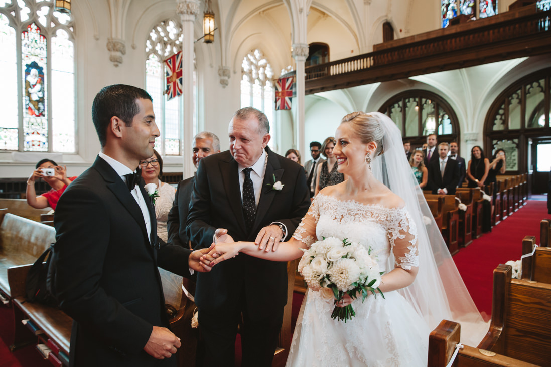 Wedding ceremony at Knox Presbyterian Church, Toronto   EIGHTYFIFTH STREET PHOTOGRAPHY