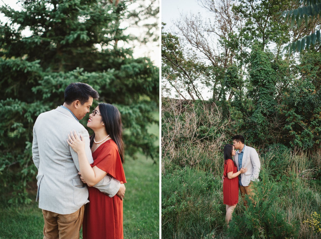 Autumn Erindale Park Engagement - EightyFifth Street Photography