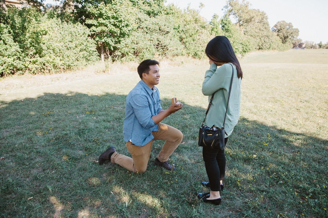 Mississauga Surprise Proposal - EightyFifth Street Photography
