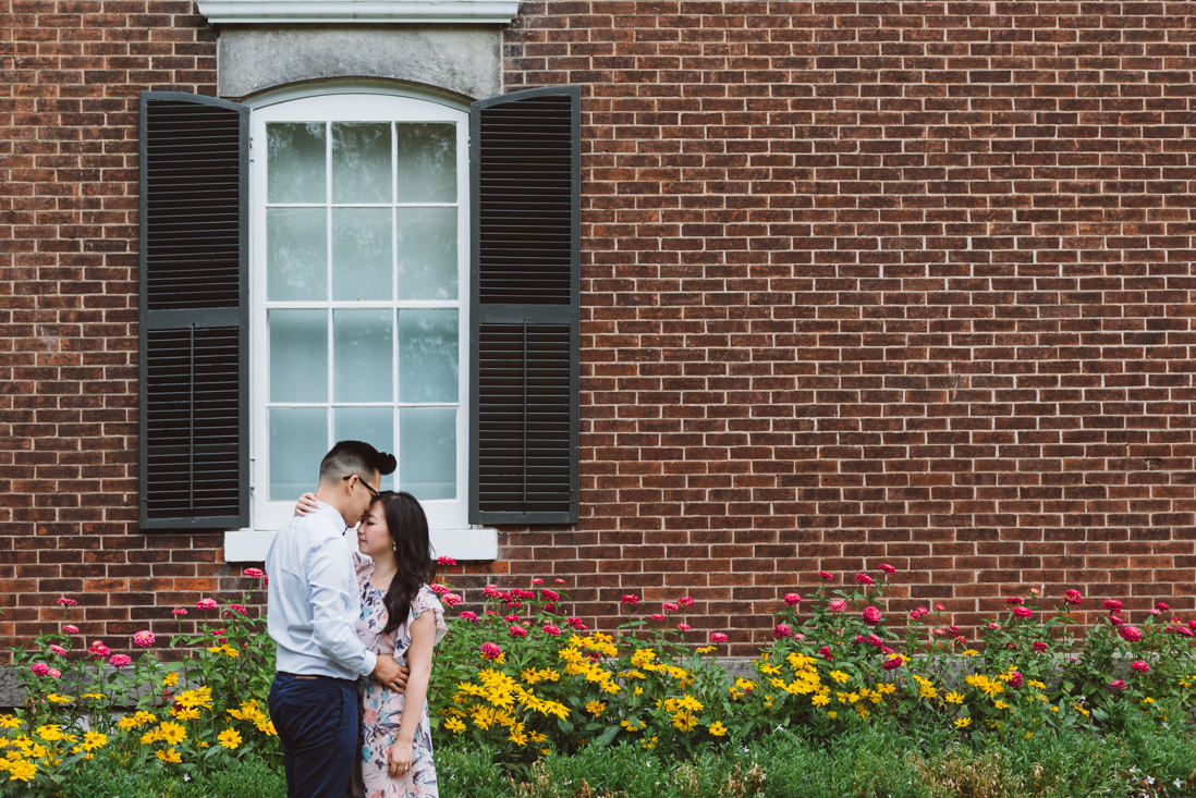 Oakville Museum | Lakeside Park Engagement | EightyFifth Street Photography
