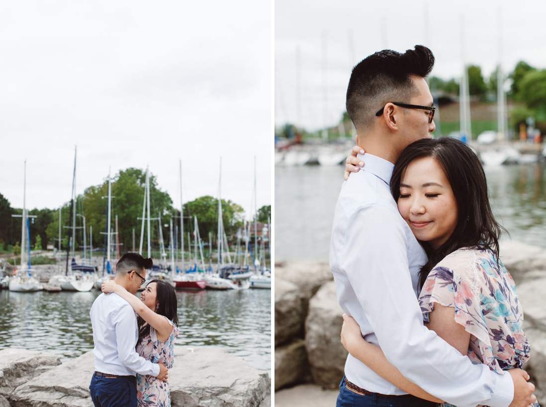 Lakeside Park Marina Engagement Oakville | EightyFifth Street Photography
