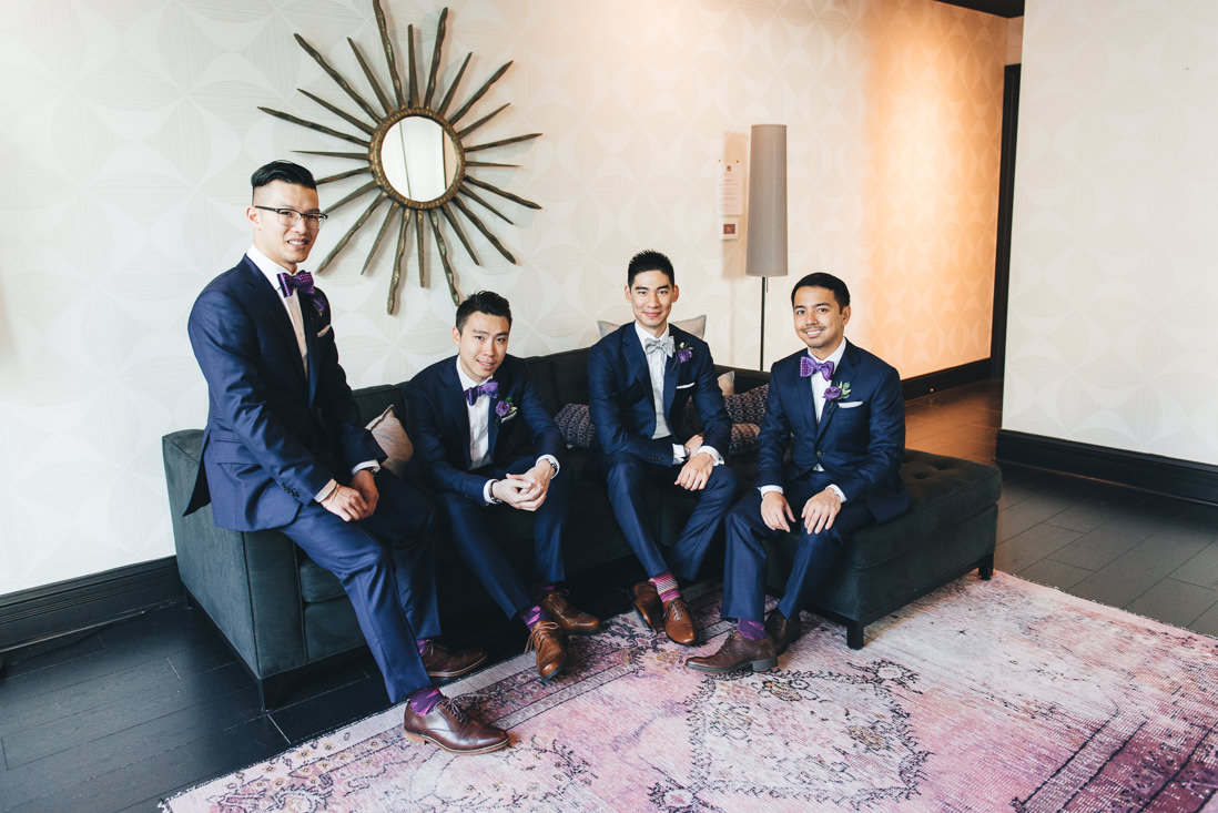 Groom & Groomsmen | Arcadian Loft Wedding, Toronto | EIGHTYFIFTH STREET PHOTOGRAPHY