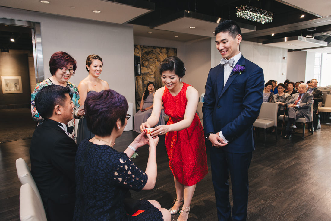 Tea Ceremony | Arcadian Loft Wedding, Toronto | EIGHTYFIFTH STREET PHOTOGRAPHY