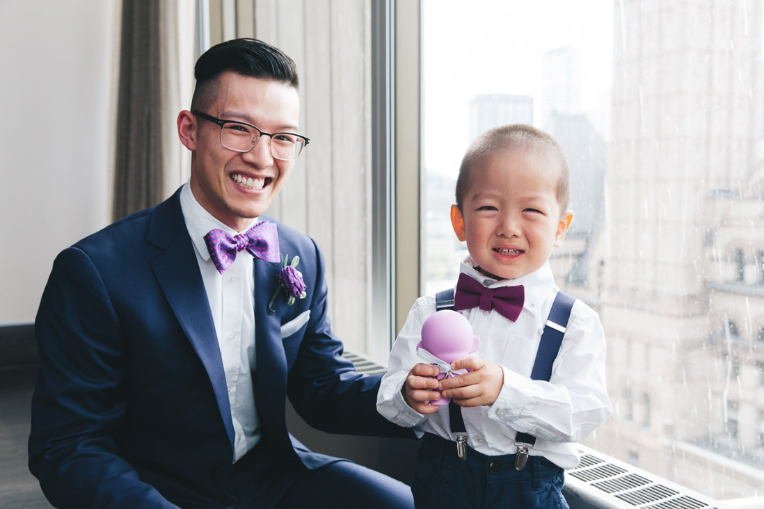 Best Man & Ring Bearer | Arcadian Loft Wedding, Toronto | EIGHTYFIFTH STREET PHOTOGRAPHY