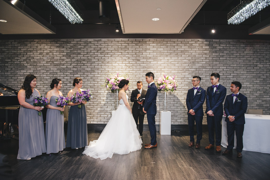 Wedding Ceremony | Arcadian Loft Wedding, Toronto | EIGHTYFIFTH STREET PHOTOGRAPHY