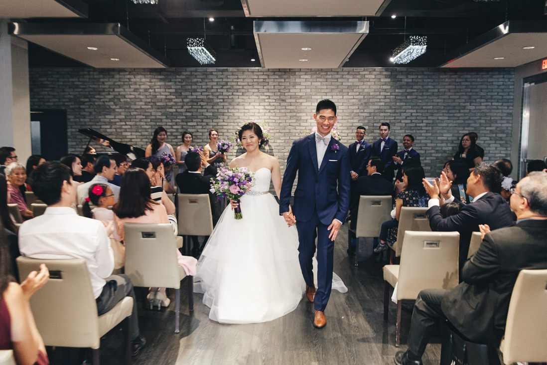 Wedding Recessional | Arcadian Loft Wedding, Toronto | EIGHTYFIFTH STREET PHOTOGRAPHY