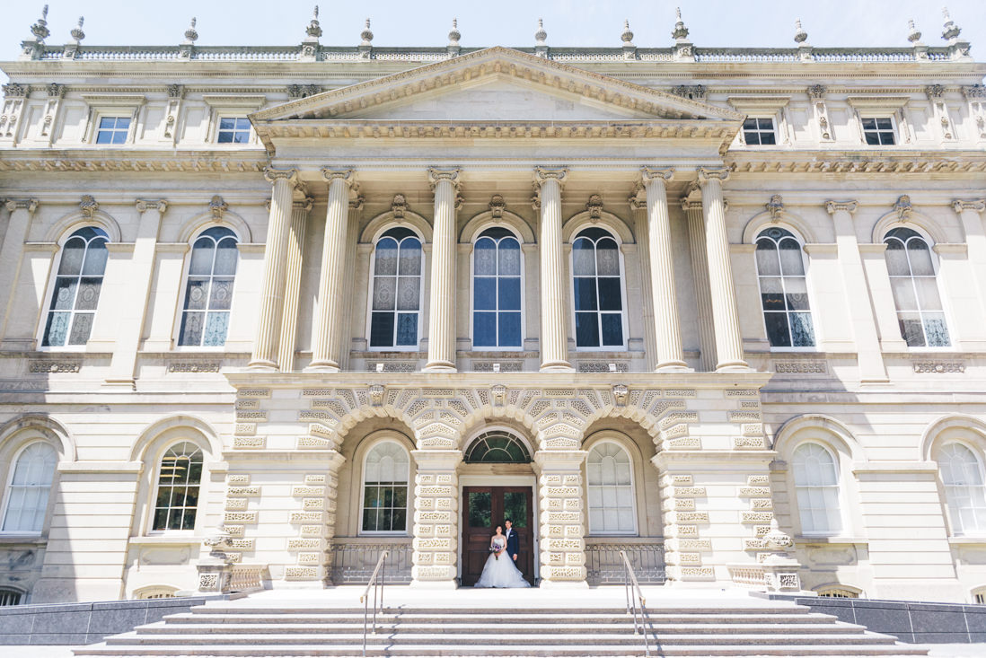 Bride & Groom portrait | Osgoode Hall wedding, Toronto | EIGHTYFIFTH STREET PHOTOGRAPHY