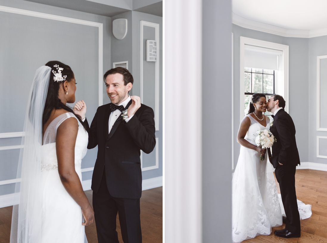 First Look   Harding Waterfront Estate Wedding, Mississauga   EightyFifth Street Photography