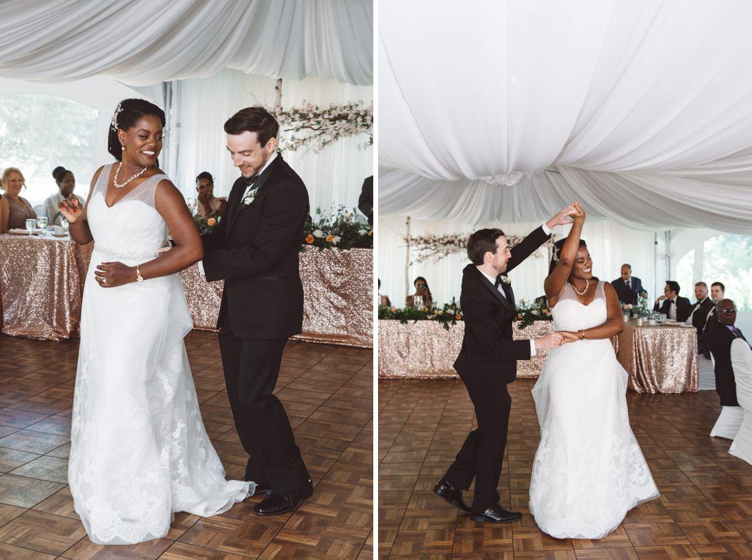 First Dance   Harding Waterfront Estate Wedding, Mississauga   EightyFifth Street Photography