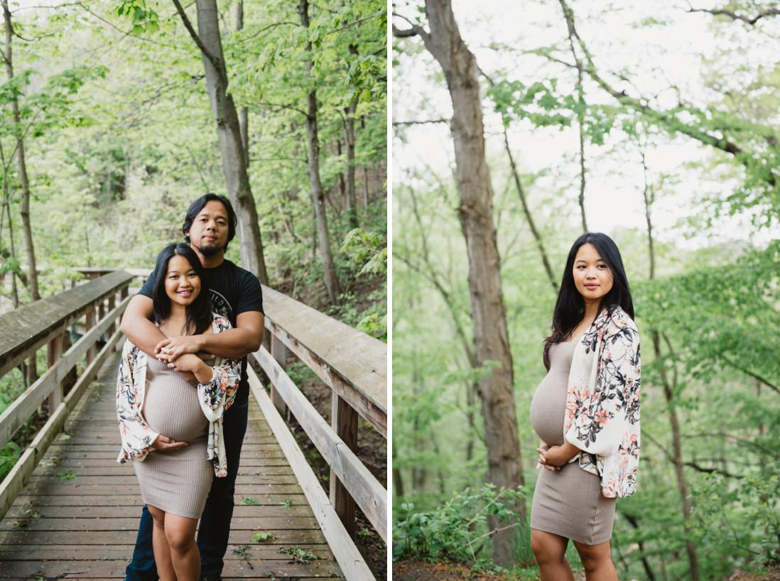 Mississauga Maternity Portraits | Riverwood Conservancy | EightyFifth Street Photography