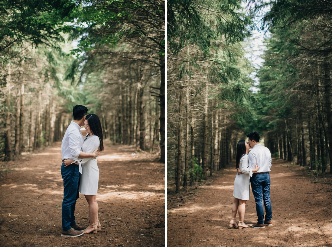 kortright centre for conservation engagement photos | engagement photo locations in vaughan | eightyfifth street photography