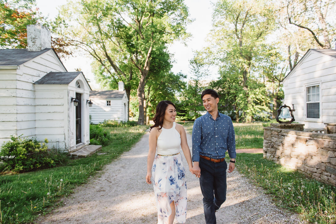 Couple walking holding hands | Scotsdale Farm Engagement, Georgetown | Toronto Wedding Photographer | EightyFifth Street Photography