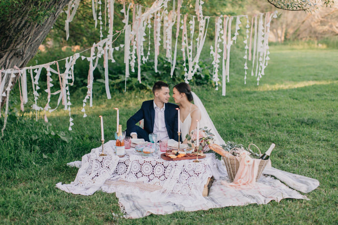 Spring Picnic Elopement Inspiration | EightyFifth Street Photography