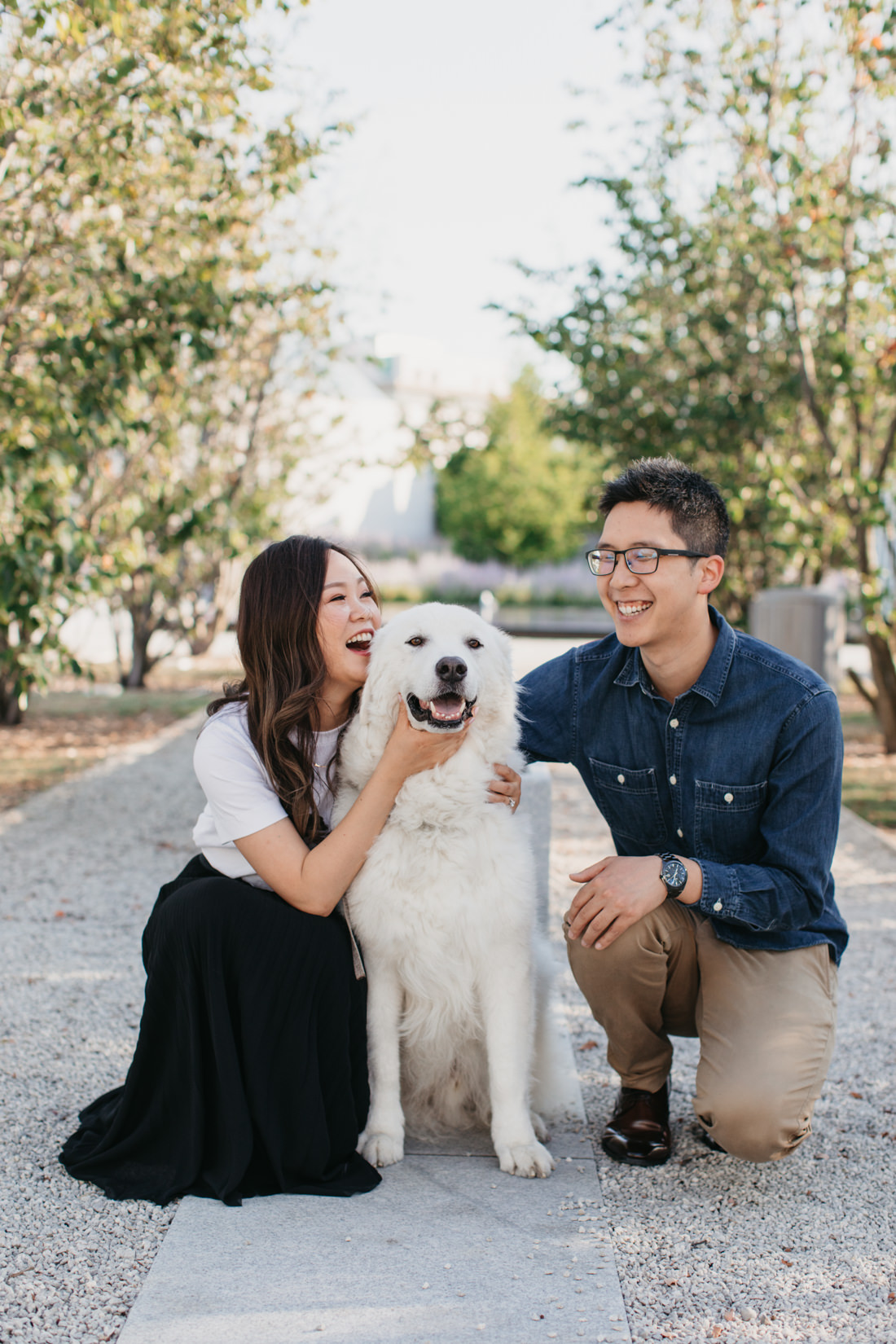 Engagement Photos with pet dog | Toronto Wedding Photographer | EightyFifth Street Photography