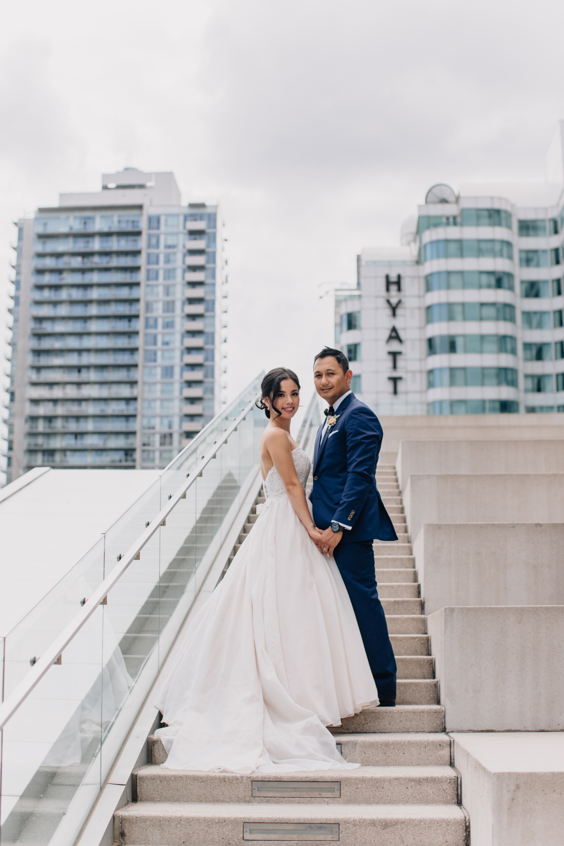 bride and groom portrait malaparte wedding toronto wedding photographer
