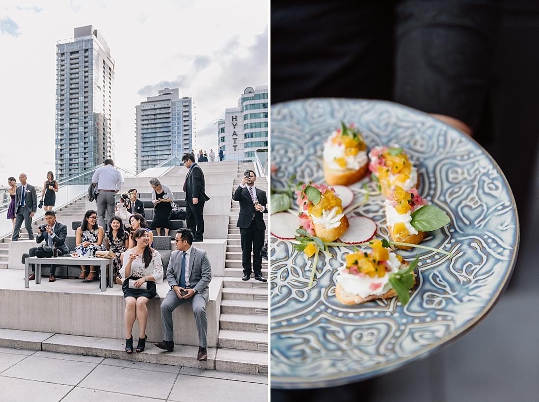 malaparte wedding cocktail hour | eightyfifth street photography