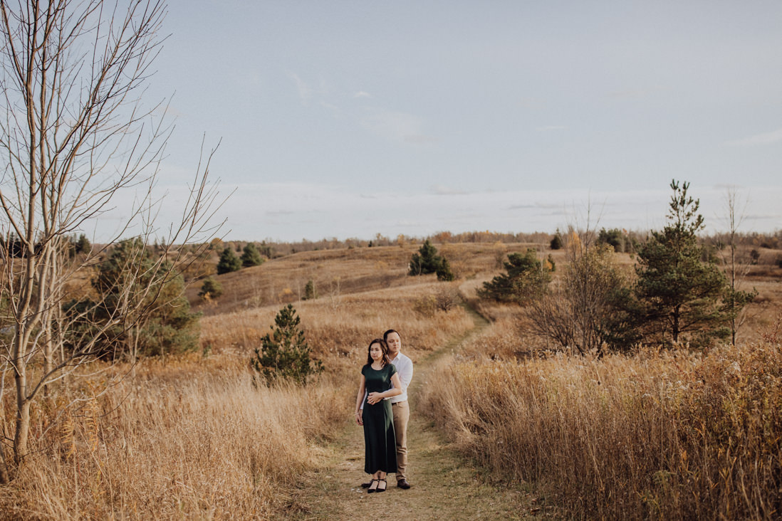 caldeon fall engagement | eightyfifth street photography