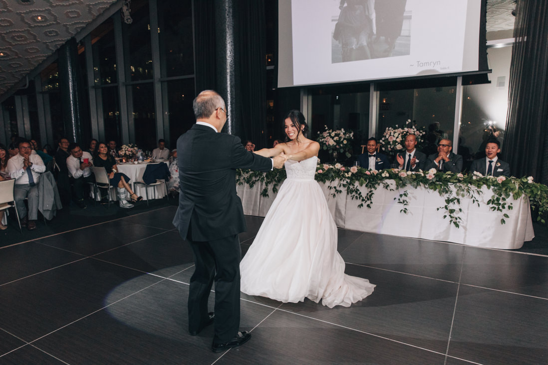 father daughter dance wedding reception toronto | EightyFifth Street Photography