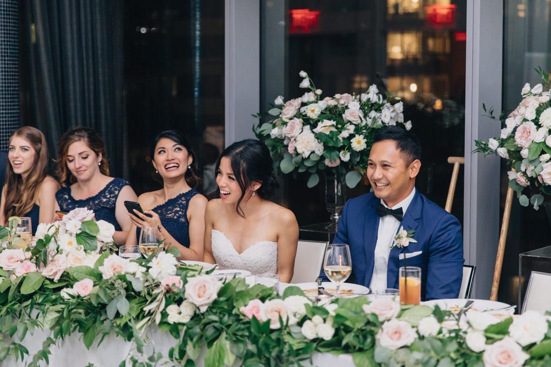 malaparte wedding reception head table | eightyfifth street photography