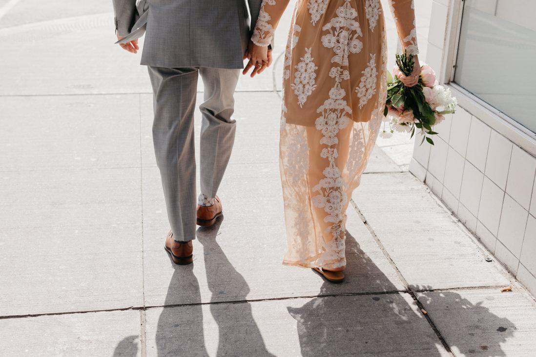 urban modern Wedding street portraits Toronto_EightyFifth Street Photography