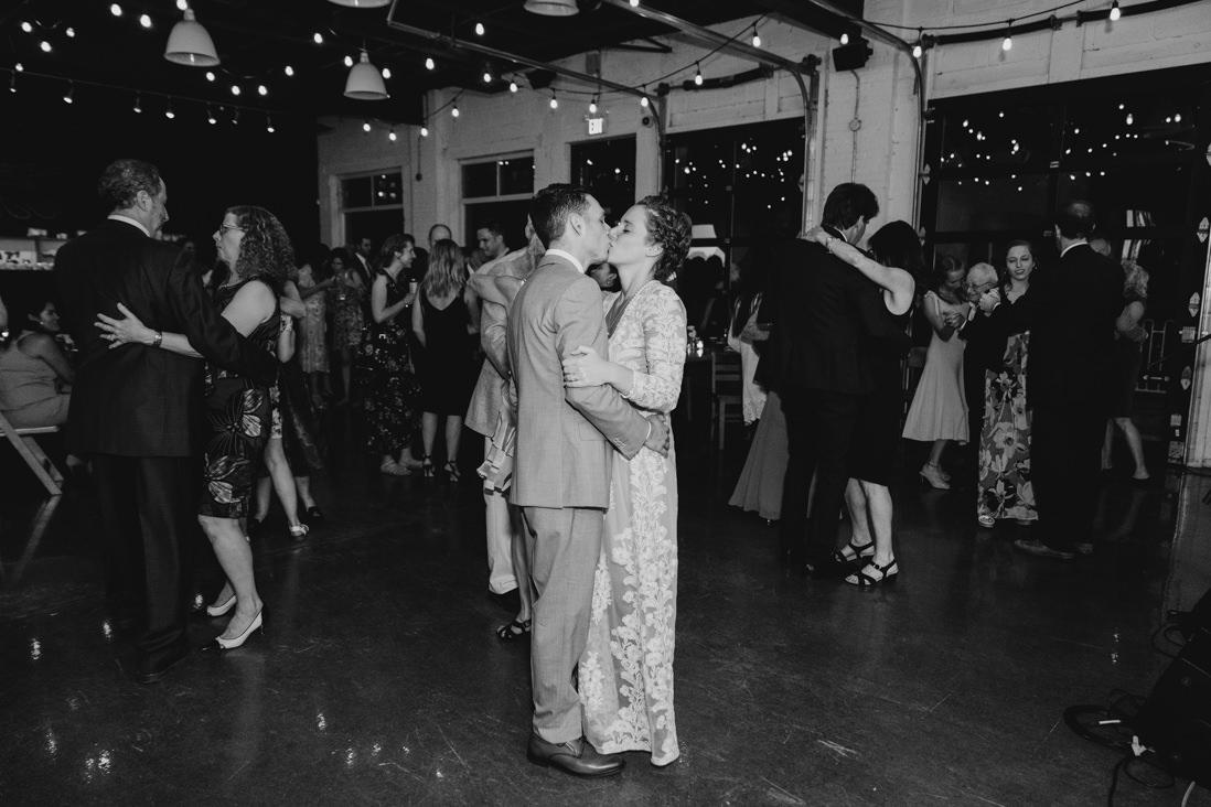 first dance Propeller Coffee Co Wedding Toronto_EightyFifth Street Photography
