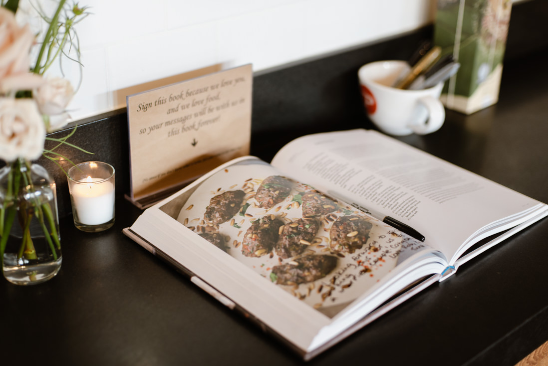 cookbook for guestbook intimate Wedding Toronto_EightyFifth Street Photography