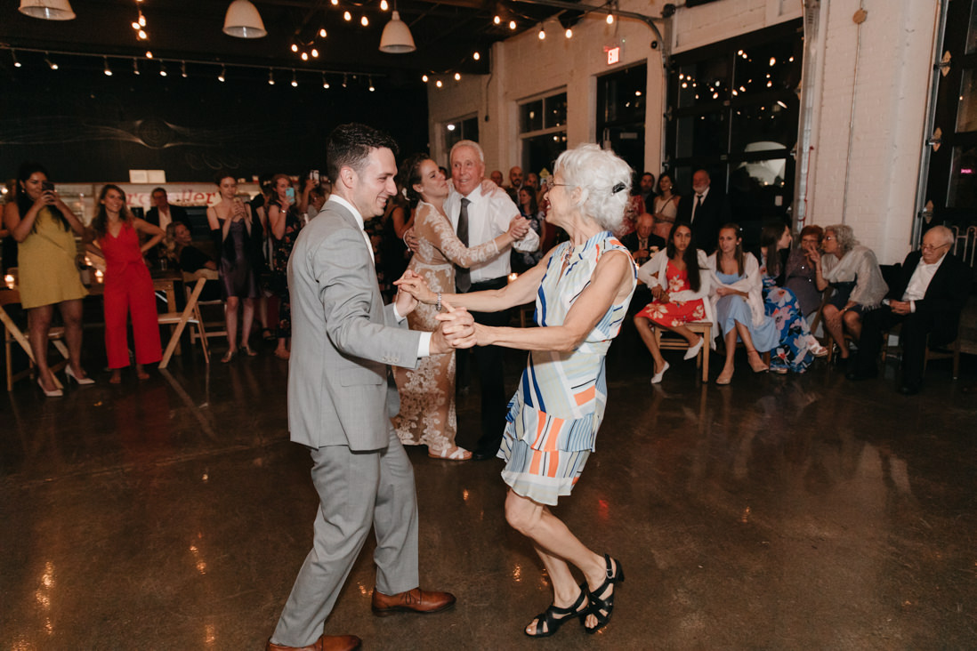 parent dances wedding reception Propeller Coffee Co Toronto_EightyFifth Street Photography