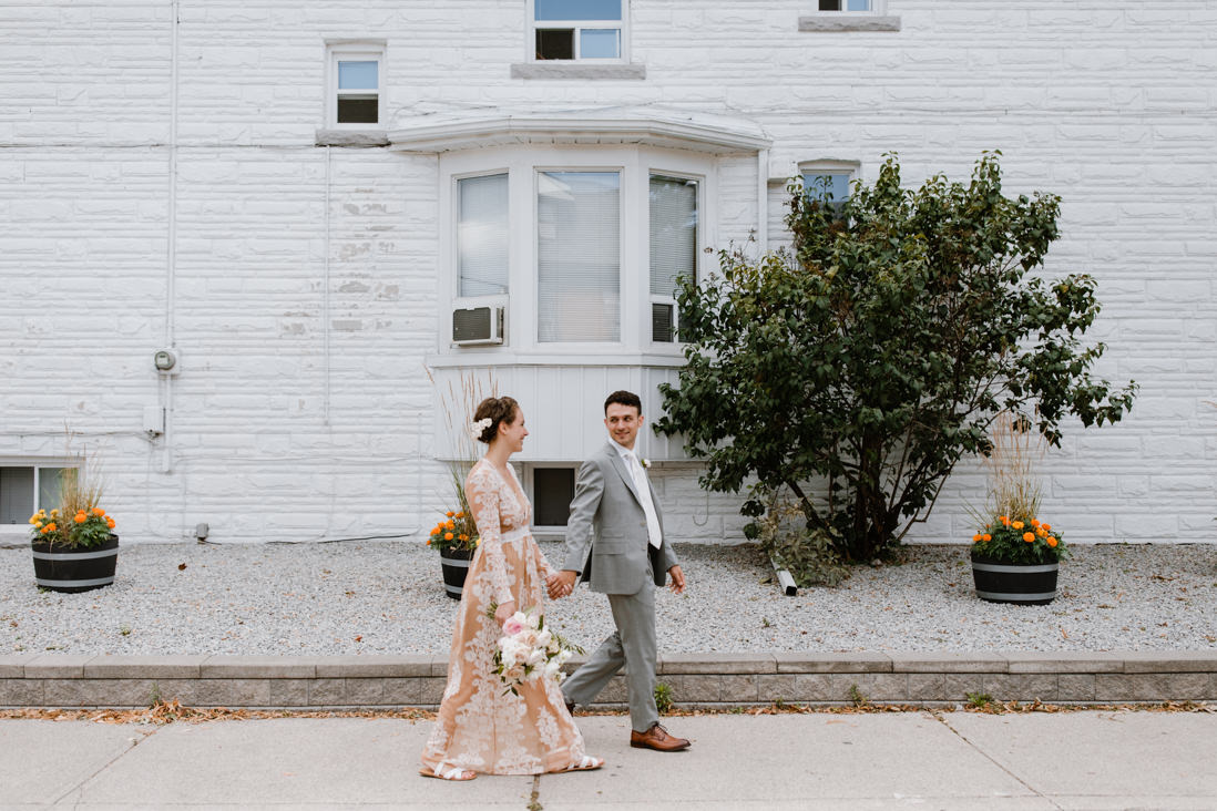 urban wedding portraits in Toronto dovercourt park dufferin grove EightyFifth Street Photography
