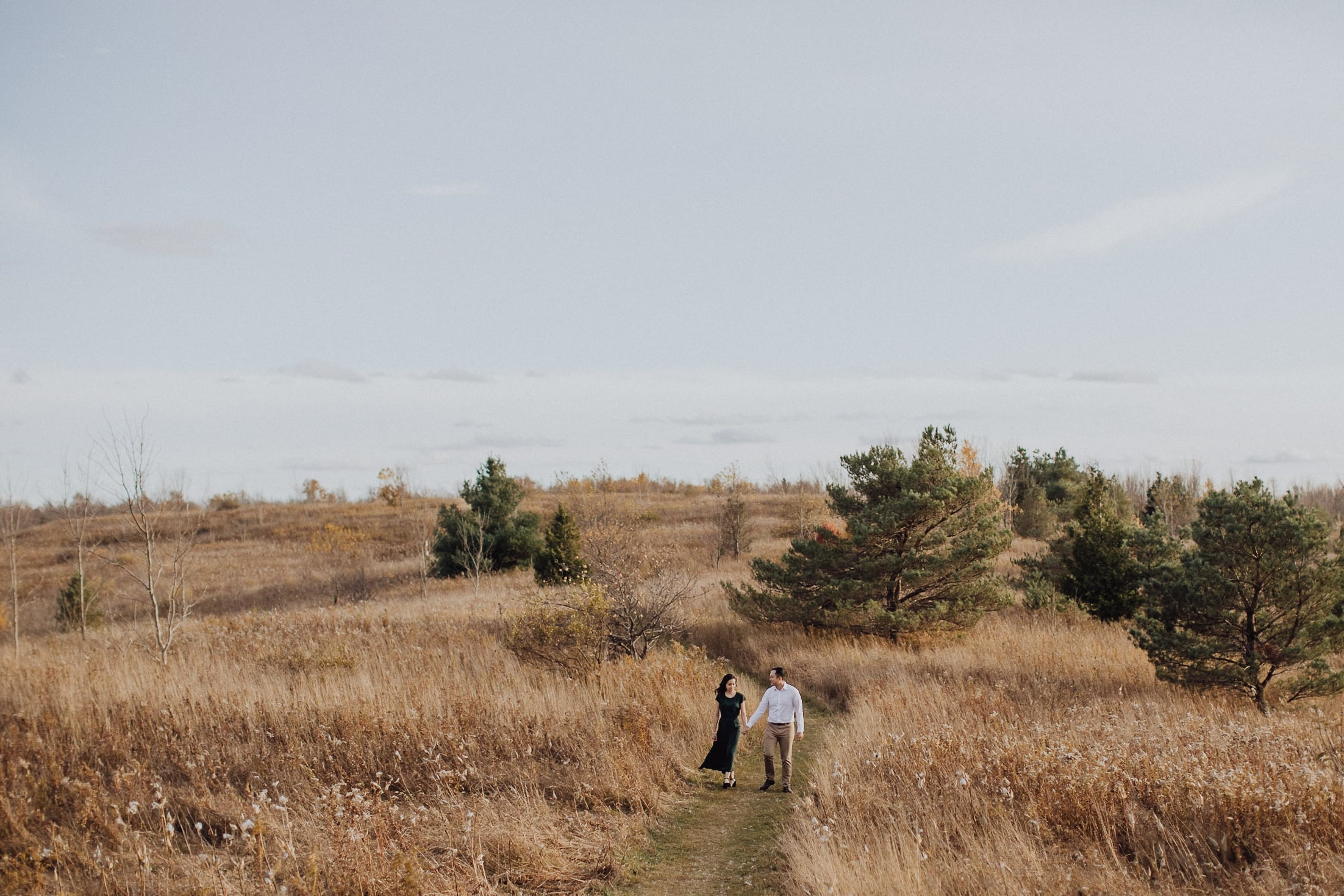forks of the credit park fall engagement caledon toronto wedding photographer